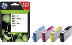 tinta pack hp 364xl