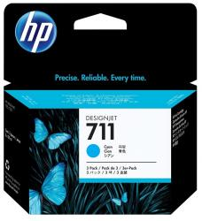 tinta pack 3 cian hp 711