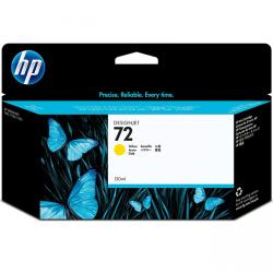 tinta amarilla hp 72 (130ml)