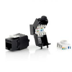 conector keystone jack toolfree rj45 cat.6a (8 uds)