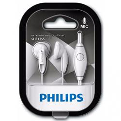 auriculares philips she1355 blanco