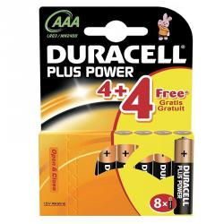 duracell plus power (8 pack) aaa