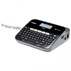 rotuladora electrónica brother p-touch pt-d450vp