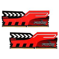 geil forza red ddr4 3000mhz 16gb 2x8gb cl15