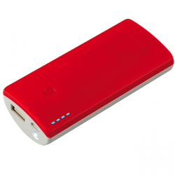power bank pny powerpack curve 5200 roja