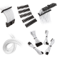 kit de cables bitfenix alchemy 2.0 blanco