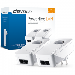 kit starter plc devolo dlan 1000 duo+