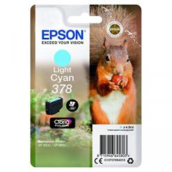 tinta epson cian light photo hd 378