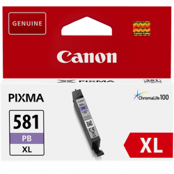tinta canon photo azul cli-581pb xl