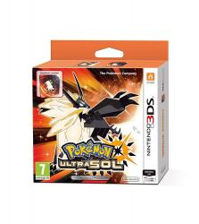 pokemon ultra sol edición especial steelbook 3ds