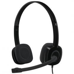 auriculares logitech stereo h151 negro