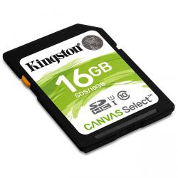 kingston canvas select sdhc 16gb clase 10 uhs-i