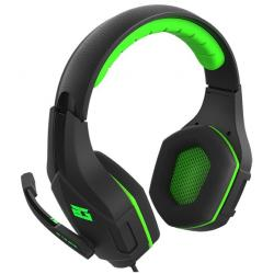 auriculares bg vicker gaming ps4/xbox one negro/verde
