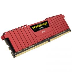 corsair vengeance lpx rojo ddr4 2400mhz 8gb cl16