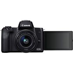 canon eos m50 kit negro + ef-m 15-45 is stm