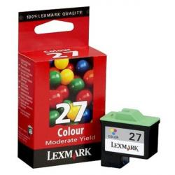 tinta lexmark 27 color