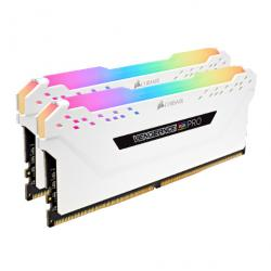 corsair vengeance rgb pro blanco ddr4 2666mhz 16gb 2x8gb cl16