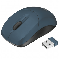 trust inu small wireless mouse azul
