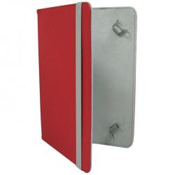 funda leotec left09 9'' rojo