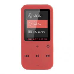 energy sistem energy mp4 touch coral 8gb rojo