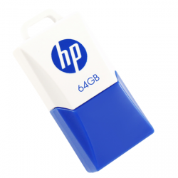 hp v160w 64gb blanco/azul