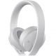 auriculares sony ps4 gold blancos
