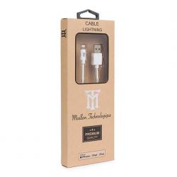 cable maillon usb2.0 a lightning con mfi