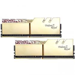 g.skill trident z royal gold ddr4 3600mhz 16gb 2x8gb cl17