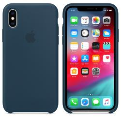 funda apple silicone case iphone xs max verde océano