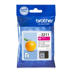 tinta brother magenta lc3211m