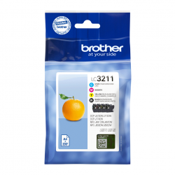tinta brother pack lc3211val
