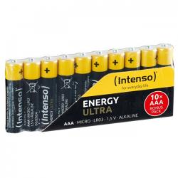 pilas alcalina aaa lr03 intenso energy ultra pack-10