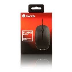 ratón ngs wired mouse flame black