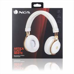 auriculares ngs ártica lust white