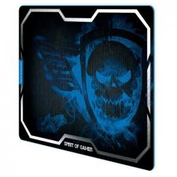 alfombrilla spirit of gamer blue smokey skull xl