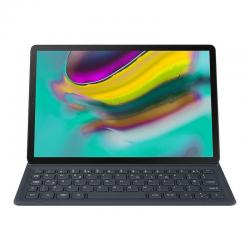 funda book cover keyboard galaxy tab s5e negra