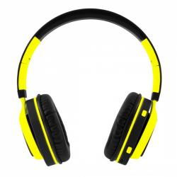 auriculares coolbox coolhead amarillo