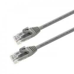aisens - cable de red latiguillo rj45 lszh cat.6a utp awg24, gris, 10m