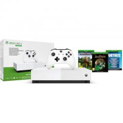 xbox one s all digital 1tb + fortnite + sea of thieves + minecraft