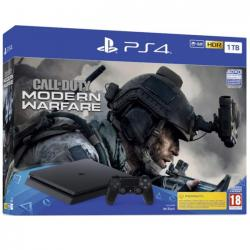 consola ps4 slim 1tb + call of dutty mw 2019