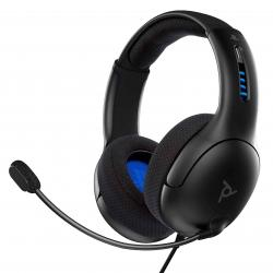 pdp 50 wired stereo headset ps4