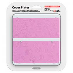 new 3ds cover mario plate pink