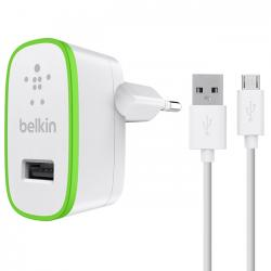 cargador con cable belkin universal home charger blanco