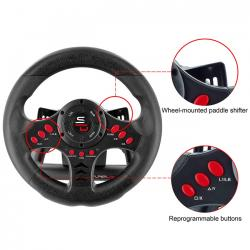 volante subsonic superdrive racing wheel sv400 ps4/xone/ps3/pc