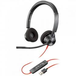 auriculares poly blackwire 3320 usb